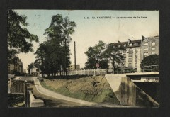 La descente de la Gare - Nanterre