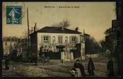 L'avenue de la Gare - Nanterre