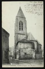 L'abside de l'église - Nanterre