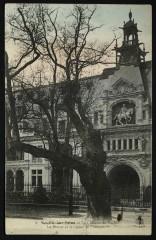 Le Château de Madrid - La Statue et le Chêne de François 1er - Neuilly-sur-Seine