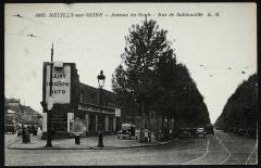Avenue du Roule - Rue de Sablonville - Paris 17e