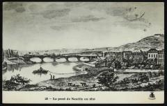 Le Pont de Neuilly en 1830 - Neuilly-sur-Seine