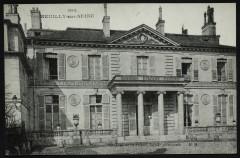 Château de St-james, façade principale - Neuilly-sur-Seine