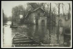 30 janvier 1910 - Rue du Bois de Boulogne - Neuilly-sur-Seine