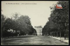 Porte et Boulevard de Sablons - Neuilly-sur-Seine