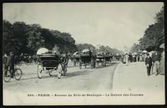 Avenue du Bois de Boulogne - Le Retour des Courses - Neuilly-sur-Seine