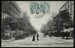 Avenue de Madrid - Neuilly-sur-Seine
