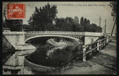 Le pont de la Jatte ( Pont Bineau) - Neuilly-sur-Seine