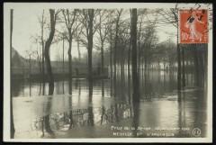 Crue de la Seine - 30 Janvier 1910 - Bd d'Argenson - Neuilly-sur-Seine