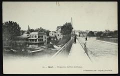 Perspective du Pont de Chatou - Rueil-Malmaison