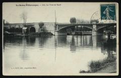 La Seine Pittoresque. - Le Pont de Rueil - Rueil-Malmaison