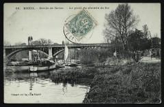Bords de Seine. - Le pont du chemin de fer - Rueil-Malmaison