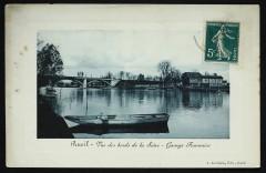 Vue des bords de la Seine - Garage Fournaise - Rueil-Malmaison