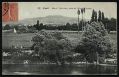 Mont-Valérien, pris de l'Ile de Châtou - Chatou