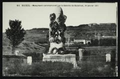 Monument commémoratif de la Bataille de Buzenval, 19 janvier 1871 - Rueil-Malmaison