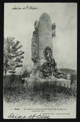 Monument commémoratif de la Bataille de Buzenval 19 Janvier 1871 - Rueil-Malmaison