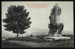 Monument de Buzenval - Souvenir commémoratif de la Bataille livrée aux Allemands 19 Janvier 1871 - Rueil-Malmaison