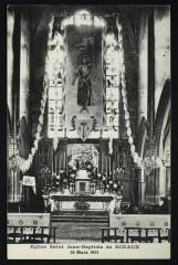 Eglise saint Jean-Baptiste de Sceaux 26 mars 1933 - Sceaux