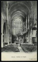Intérieur de l'Eglise - Sceaux