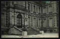 Château de Sceaux - Entrée du château 92 Sceaux