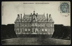 Château de Sceaux - Côté des Grands Parterres 92 Sceaux