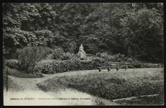 Bassin du petit Château et Statue d'Amalfe [Amalthée] 92 Sceaux