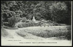 Bassin du petit Château et Statue d'Amalte [Amalthée] 92 Sceaux