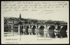 Le pont (Panorama) - Saint-Cloud