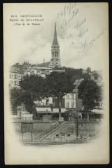 Eglise de Saint-Cloud (Vue de la Seine) - Saint-Cloud