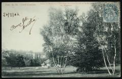 Allée de Marnes - Pelouse de Combleval et la Maison du Piqueur 92 Saint-Cloud