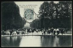 Allée centrale du Bas Parc 92 Saint-Cloud