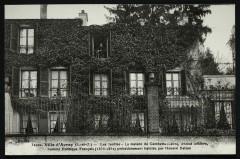 Les Jardies - La maison de Gambetta [...] précédemment habitée par Honoré de Balzac - Sèvres