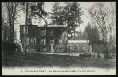 La Maison de Gambetta vue des Jardins - Sèvres
