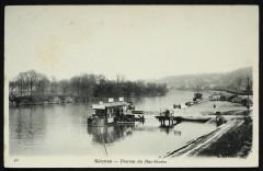 Ponton du Bas-Sèvres - Sèvres