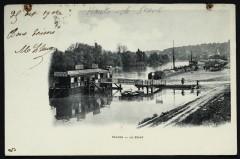 La Seine [Ponton] - Sèvres