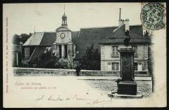 Eglise de Sèvres construite sur pilotis en 675 - Sèvres