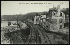 Le chemin de fer et la Seine - Sèvres