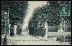 Rue de l'Ouest prise de la rue de la Caille - Sèvres