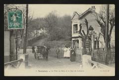 Le Pont de Bois et la Rue du Calvaire - Suresnes