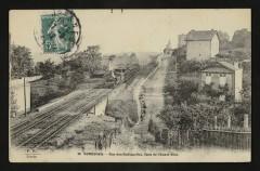 La rue des Radiguelles, ligne [chemin de fer] de l'Ouest-Etat - Suresnes
