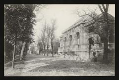 Lycée Michelet - Première allée - Vanves