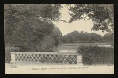 L'Etang, vue du Pont - Ville-d'Avray