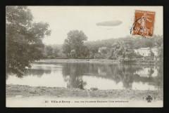 Lac des fausses-Reposes (Vue artistique) 92 Ville-d'Avray