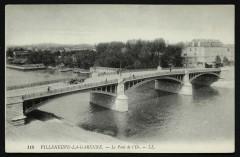 Le Pont de l'Ile - L'Île-Saint-Denis