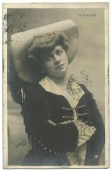 ALAZA, Blondiette Etoile. 868--0. Photo Stebbing