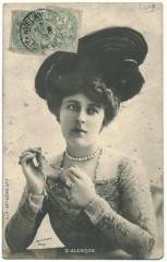 ALENCON, Emilienne d' SIP; 42-7. Photo Reutlinger