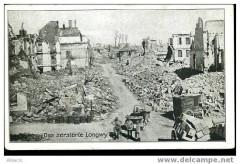 Alfred Grohs B. ... Das zerstörte Longwy. Bildseite