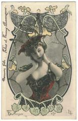 Amélie Diéterle (1871-1941) carte postale (A20)