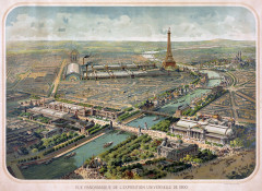 Flickr - …trialsanderrors - Panoramic view of the Exposition Universelle, Paris, 1900 - Paris 6e