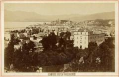 06-Cannes-vue depuis la Californie-vers 1910 - Cannes